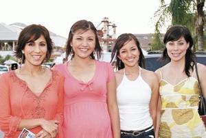 Amira, Karla, Martha y Saraí Fahur