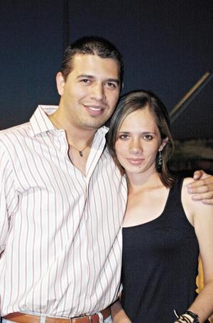 Ricardo Serrano y Bárbara García