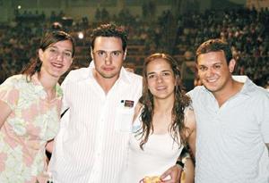 Hilda Calderón, Alberto Dávila Fayad, Alejandra Villalobos y Miguel Cepeda