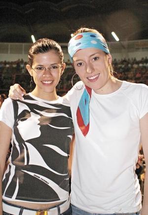Roberta Cárdenas Sánchez y Laura Sánchez Von Bertrab