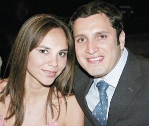 Ileana Villa y Federico Sánchez