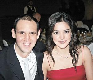 José Ramón García y Lorena Salmón