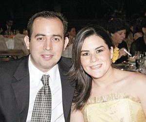 Ricardo Gómez y Analú Aranzabal