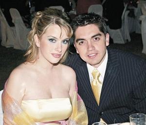 Karla Villarreal de Salazar y Luis Fernando Salazar Fernández