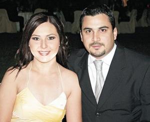 María Fernanda Álvarez y Alberto Villalobos