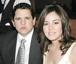 Jorge Guajardo y Celina Barrientos