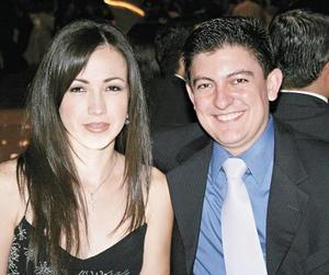 Maru Ávila y Hector Cantú