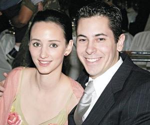 Angie Aguilar y Carlos Cantú