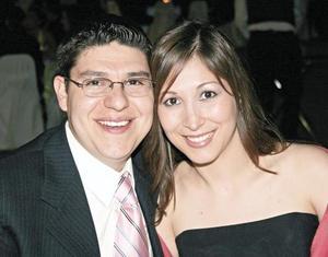 Ricardo Silerio Rivera y Lorena Garza de Silerio