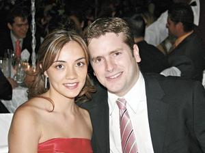 Karen Platas y Andrés de la Parra