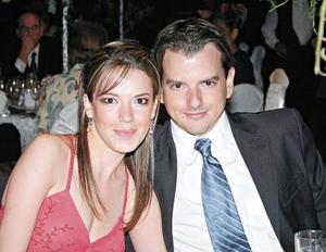 Priscila Benavides y Javier Villarreal