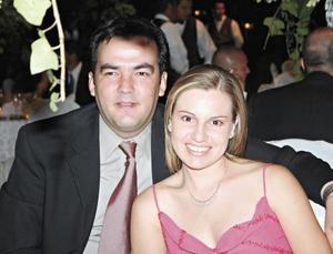 César Martínez y Silvia de Martínez