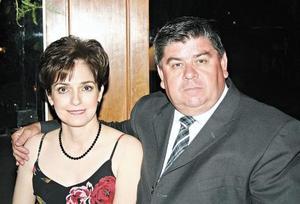 Adriana S. de Niño de Rivera y Carlos Niño de Rivera