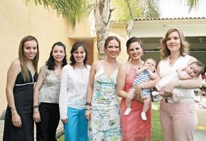 Tereliz Hernández, Cristina Sáenz, Evelina Morales, Ana Laura Muruato, Alejandra Galván, Jorgito Humphrey, Maritere de Téllez y Maritere Téllez