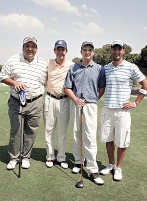 Christian Thomé, Luis Dueñes, Rodrigo González y Juan Wong