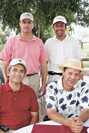 Rubén Rodríguez, Gerardo Torres, José González Barrios y Fernando Casas