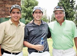 Francisco y Marcelo Obeso y Marco Antonio Portal