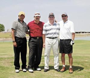 Alfonso García, Gerardo Rodríguez, Armando Navarro y Adrián Garza