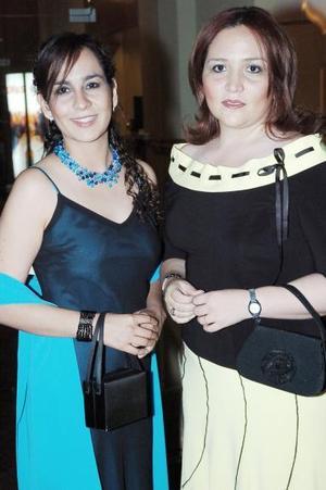 <b>14 de mayo </b><p> Zahenia Ramírez y Mariana Merijil