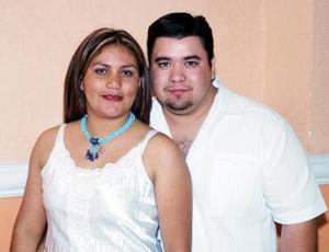 Carmen Cisneros y su esposo Jorge Escalera