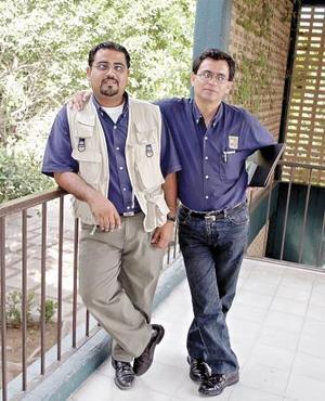 Ariel Sandoval García y José Carlos Nava.