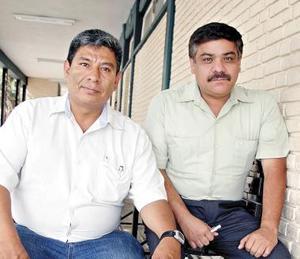Juan José Martínez Susuki y Carlos Vázquez Monárrez.