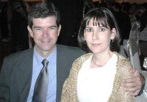 Luis Dueñes y Laura Martínez de Dueñes