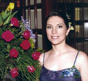 <b>16 de mayo </b><p> Liliana Cepeda Ramírez