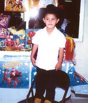 Gerson Sonora Maldonado cumplió 3 años de vida recientemente
