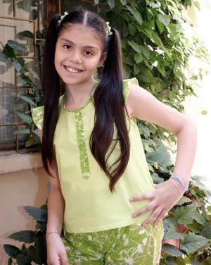 Nuria Ivana Pérez González celebró su cuempleaños recientemente.