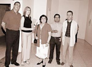Juan Antonio Chávez, Martha Chávez, Martha Chávez, Martha de la Peña, Miguel Canseco y Guilles Guey.