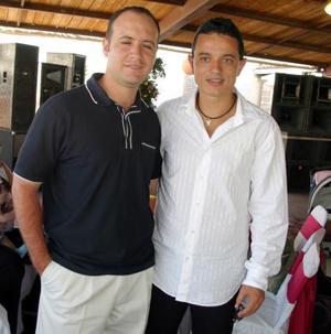 Guillermo Hernández y Carlos Augusto Gómez.