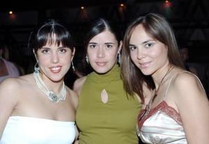 Fátima Horcasitas, Martha Piña, e Ileana Villa.