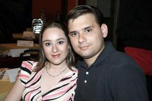 Brenda Estrella y Belarmino Rimada.