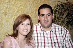Claudia de Estrella y César Estrella.