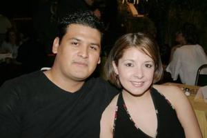 Enrique Pámanes y Gabriela Aguilar Salas.