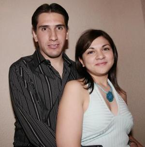 Alejandro Lazarín y Ana Rodríguez
