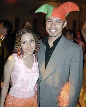 Marisol Aldaba y José Luis Ramírez.
