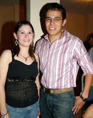 <b>15 de mayo </b><p> Rosa Michel y Juan Luis Sosa