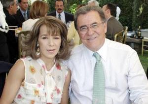 Edurne y Rafael Villegas.