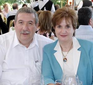 Luis Rosas y Ana Mary Martín de Rosas