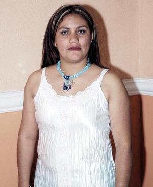 Carmina Cisneros de Escalera, captada el día de su despedida de soltera.