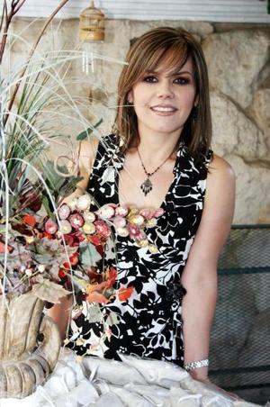 Silvia Padilla Velazco en su despedida de soltera.