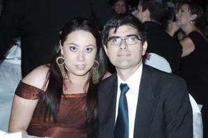 Cinthya Ávila  y Francisco Zárate