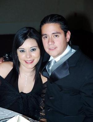 Claudia Santana y Aldo Serna.