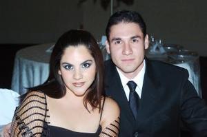 Patricia Arestegui y Luis Arturo Ortega.