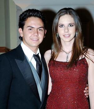 Fernando Reyes y Astrid Valenzuela.
