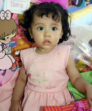 Por su primer cumpleaños, Valeria Ramírez Alba disfrutó de una fiesta de cumpleaños.
