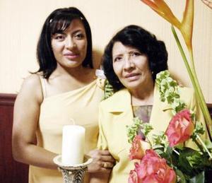 Rosario Moreno Reyna le ofreció una fiesta de despedida a Gaby Hernández