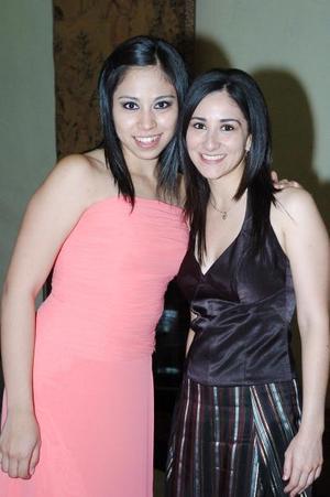 Gloria Hernández y Lorena López